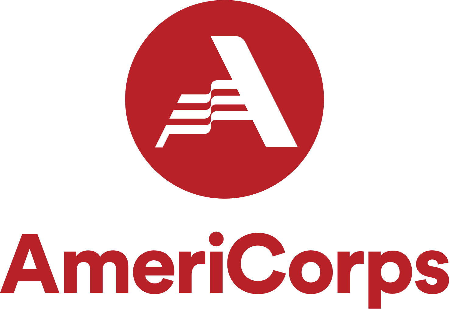 AmeriCorps Logo in red