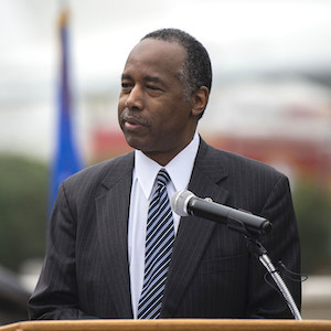 Photo of HUD Secretary Ben Carson